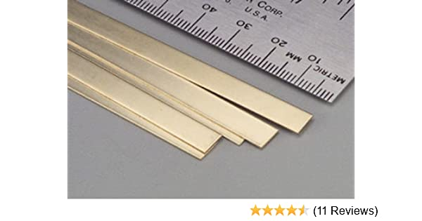 Buy Brass Strips 36 016 X 1 4 5 Online At Low Prices In India Amazon In