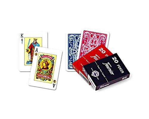 Pack de 2. Baraja española de Rabino-Remigio Fournier. 55 cartas. En