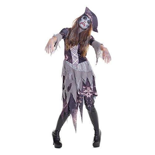 Frauen Geist Pirat Kostüm Unheimlich Zombie Kleidung Für Parteien Und Halloween - Groß