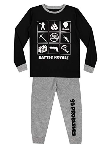 Character UK Jungen Battle Royale Schlafanzug Mehrfarbig 164