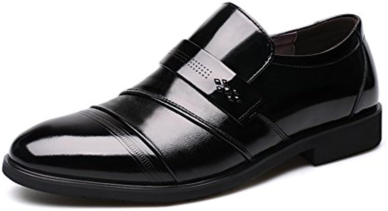 XIE Frühling Sommer Herren Sohle Rindsleder Business Kleid Schuhe Leder Casual Füße Herrenschuhe Schuhe 38 43