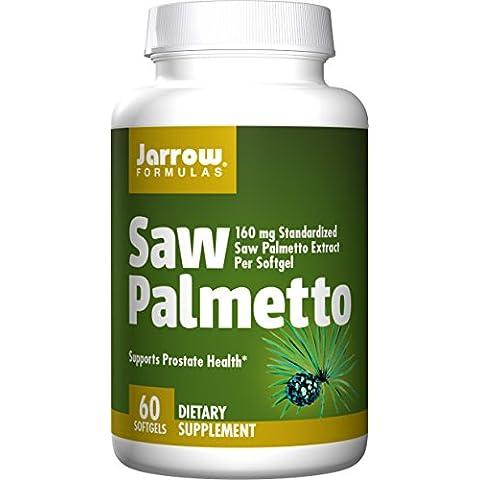 Jarrow Formulas Saw Palmetto, 60 Softgels (Pack of 2)