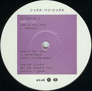 Inner City - Swingin / Do Me Right - 6 x 6 Records