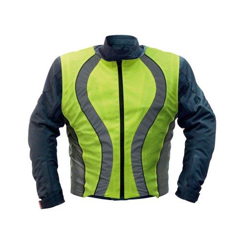 Carpoint 0114020 Sicherheitswarnweste für Motorradfahrer DIN EN471