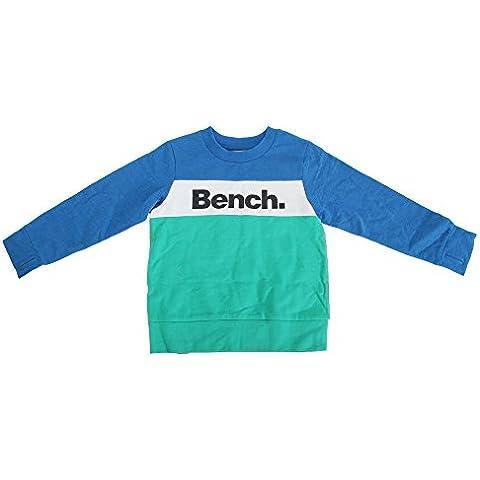 Bench - Grip - Felpa blocchi di colore con logo - Bambini