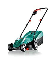 Power consumption: 1,200 W;Torque: 13 N?m;Blade diameter: 32 cm;Grass tray: 31 l;3-position cutting height from 20 to 60 mm