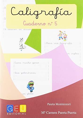Caligrafía con Pauta Montessori - Cuaderno 5