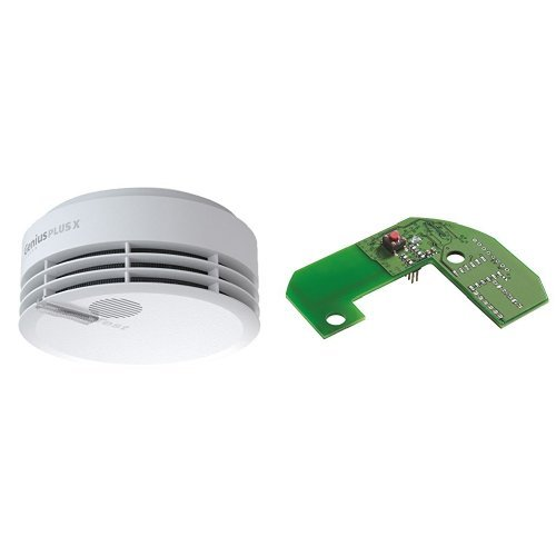 Hekatron Rauchmelder Genius PLUS X / Optional funk-vernetzbarer Brandmelder / Rauchwarnmelder mit...