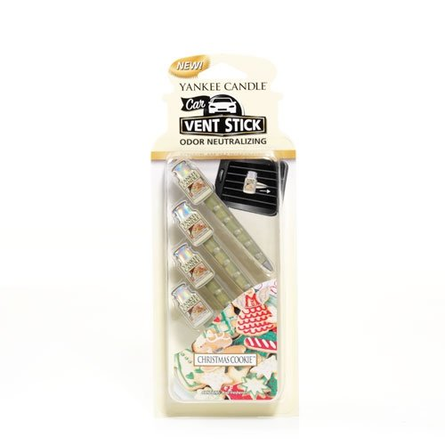 YANKEE CANDLE Duftkerze Christmas Cookie Vent Sticks, - Cookie-sticks