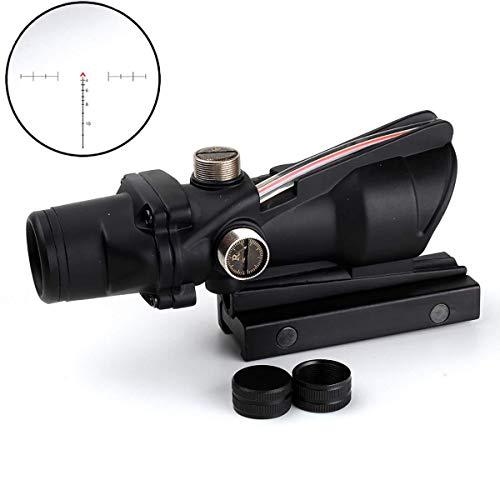SEIGNEER ACOG Style 4x32 Red Chevron Grabado con Vidrio Grabado Óptica Real Ópticas Tácticas Vistas ópticas Alcance