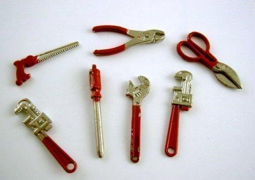 Nuovo Accessorio Di Casa Di Bambole Miniatura Set di strumenti 1074 FAI DA TE