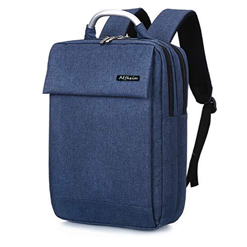 Alfheim Laptop Rucksack für Herren Damen für 13-14 Zoll Laptop,Wasserdicht&Mehrzweck&Leicht&Einfache und Elegante Notebook-Tasche für Schulreisen,Blau