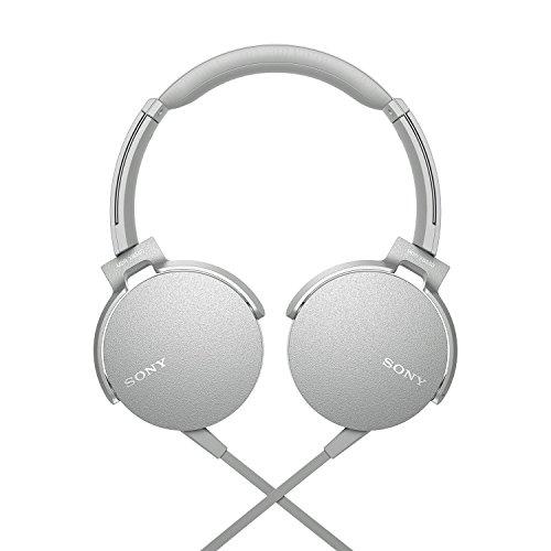 2. Sony On-Ear Extra Bass Headphones with Mic