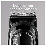Braun Barttrimmer/Bartschneider BT3022, mit 20 Längeneinstellungen, schwarz - 3