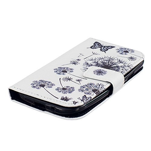 Cover per iPhone 6s Plus Custodia Protettiva in Pelle PU,TOCASO Podello Colorato Ultra Morbido Bookstyle Cover Flip Wallet Case con il Supporto di Carta Pouch Magnete Stand View Caso per iPhone 6 Plus Butterfly
