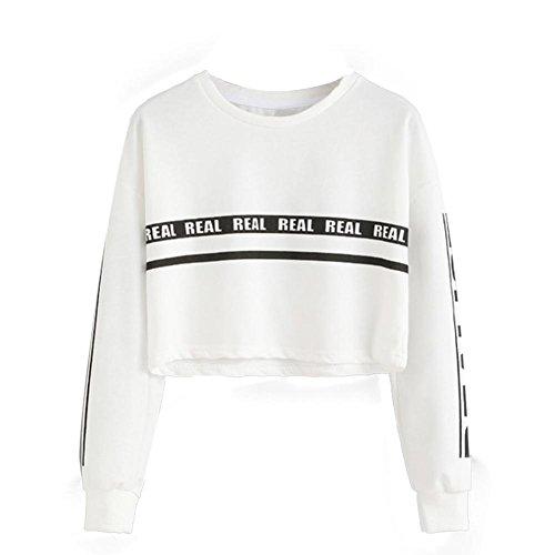 eatshirt-Bluse sleeveless Ernte-Oberseiten-Weste backless Halfter-Behälteroberseitenblustt-shirt sexy unterwäsche (XL, Weiß) (Pablos Escobar Kostüm)