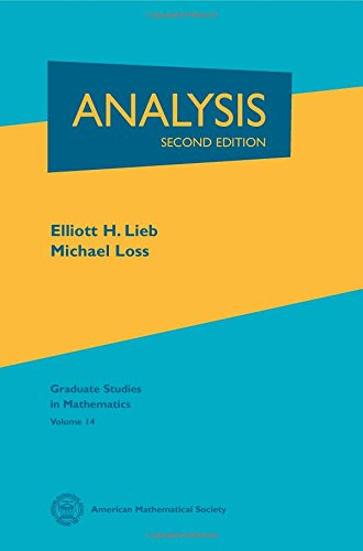 Analysis (Graduate Studies in Mathematics)