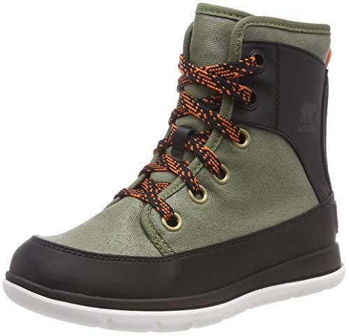 Sorel Damen Explorer 1964 Stiefel, grün (hiker green)/schwarz, Größe: 41 Mid Cut Hiker Boot