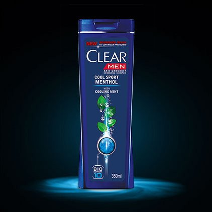 Clear Men Anti-Dandruff Cool Sport Menthol With Cooling Mint (Made In Thailand)
