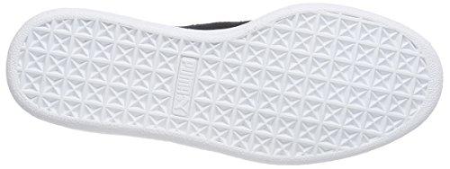 Classico Puma Scamosciato +, Unisex-erwachsene Sneakers Schwarz (blk / Gld / Wht 87blk / Gld / Wht 87)