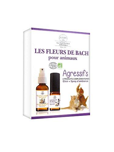Elixirs & Co die Blumen von Bach Set für Tiere Aggressive - Bild 1