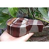 IndianStore4All Segene /& Energized Quarz Kristall Sphatik Sphatika Shivling Shiva Lingam Shiva Linga Linga 10-15 g