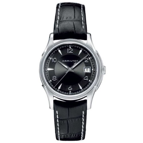 Hamilton Men's HML-H32411735 Jazzmaster Black Dial Watch