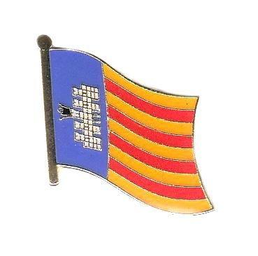 Flaggen Pin Spanien Mallorca Pins Anstecknadel Fahne Flagge FLAGGENMAE®