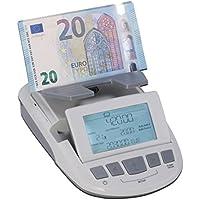 Ratiotec - Balanza ratio-tec rs 1200 - cuenta billetes/monedas y rollos de monedas - para euros/libras/chf - fu