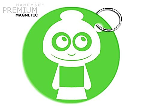 JCM Adorable Grandma Magnetic Keyring, Green