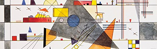Wassily Kandinsky - Orizzontale, 1924, 1 Parte Poster Carta da Parati Fotomurale (250 x 79cm)