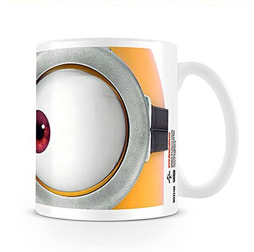 Close Up Despicable Me Tasse - Minions-Brille/Kaffeetasse aus Keramik (Despicable Brille Me)
