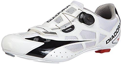 Diadora Vortex Racer, Scarpe da Ciclismo Donna, Bianco (Weiß (Weiß/Schwarz 3510)), 41