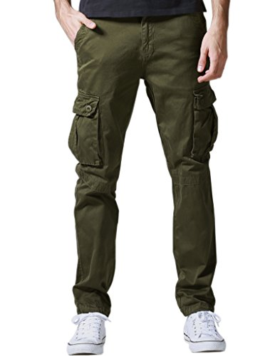 Match Herren Cargo hose #6531(34W x Regular (DE 44),6531 Armee green)