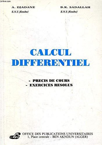 CALCUL DIFFERENTIEL