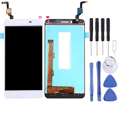 YCZLZ Display-Touch Screen für Lenovo Handy-Zubehör LCD-Bildschirm und Digitizer Vollversammlung for Lenovo Vibe K5 / A6020A40 (Schwarz) + Tools (Farbe : Weiß)