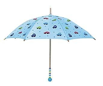 Parapluie pour enfant motif voitures bleu de jaBaDaBaDo en suède