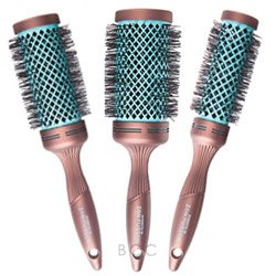 Spornette Ion Fusion Aerated Hair Brush, Round, 2 Inch by Spornette