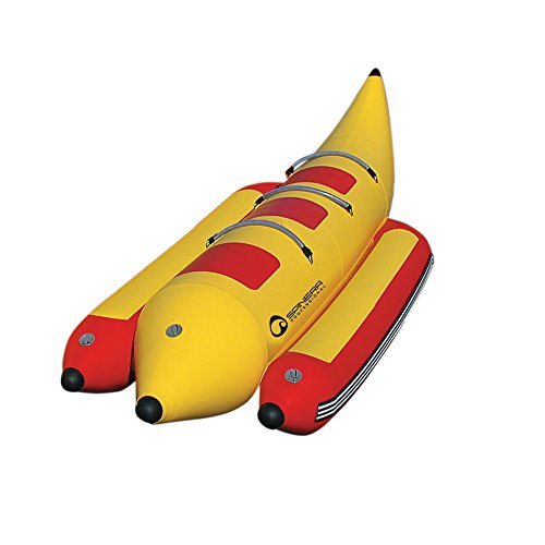 e-Sea Profi Banane 3er - Banane, Wasserring, Wasserreifen, Banana Boat / Platz für bis zu 3 Pers. (Schlauch Towable)