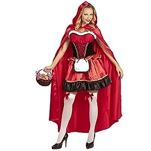 WIDMANN Mesdames disfraz de Caperucita Roja, 100% poliéster, rojo, Size 10-12, Ladies -> Size 10-12