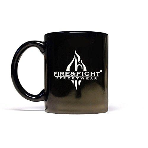 Mann Aus Den Bergen, Tee (FIRE & FIGHT Streetwear® Logodesign Kaffeebecher)