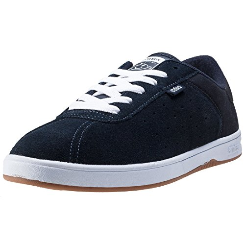 Etnies Herren the Scam Skateboardschuhe Blau (Navy/White/Gum)