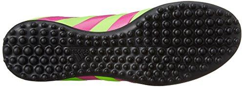 adidas Ace 16.3 TF Leather, Chaussures de Foot Homme Vert / Rose / Noir (Versol / Rosimp / Negbas)