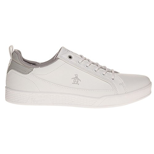 Penguin Pillo Homme Baskets Mode Blanc Blanc