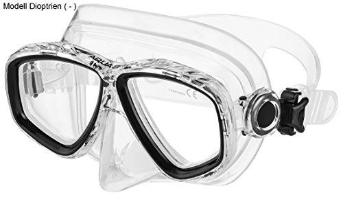 Aqua Speed - Optic PRO Taucherbrille mit Sehstärke/Dioptrien Rechts/Links individuell von +1,75; +2,25; +2,75 und -1,0 bis -8,5 | Tauchmaske | Schnorchelmaske | 07