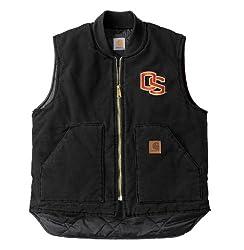 NCAA Oregon State Beavers Men's Sandstone Vest, Large Tall