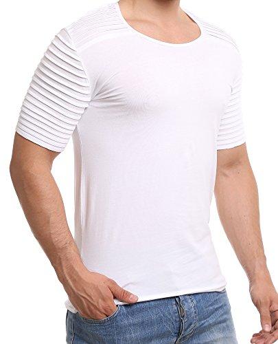 Redbridge Herren Rundhals T-Shirt M1216 White