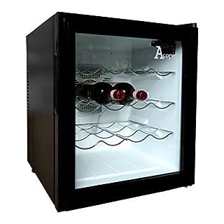 Acopino Arctic Wine BC-048 Weinkühler schwarz