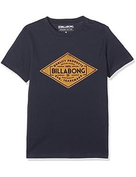 Billabong Bogus Short Sleeve Camiseta, Niños, Azul Marino, 38