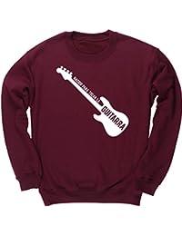 HippoWarehouse Nacido Para Tocar La Guitarra (Bajo) jersey sudadera suéter derportiva unisex niños niñas